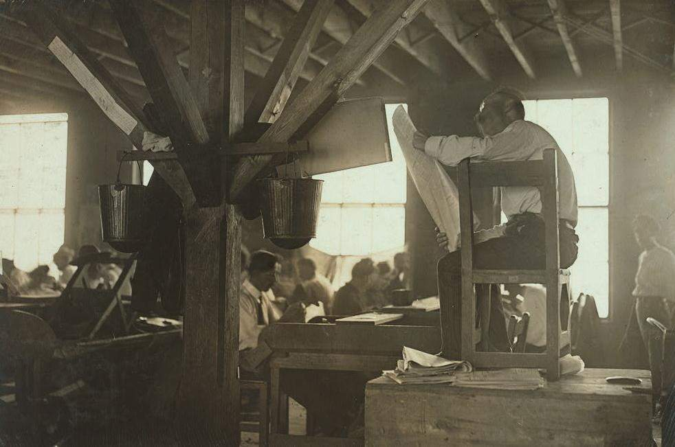 Lewis Hine in the Library of Congress