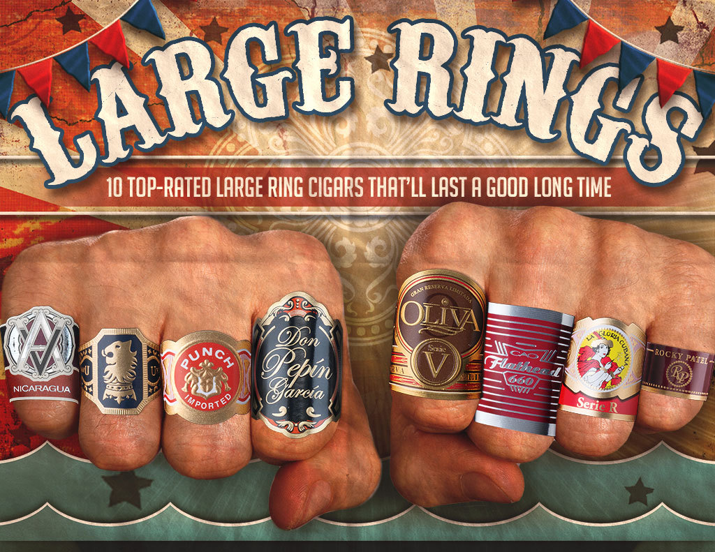 2017 CA Report: Ten Top Rated Big Cigars – 6 x 60