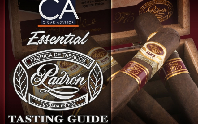 CACover Padron cigars tasting guide