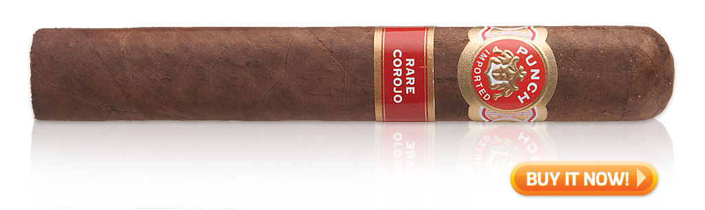 buy punch rare corojo big cigars el doble punch big cigars