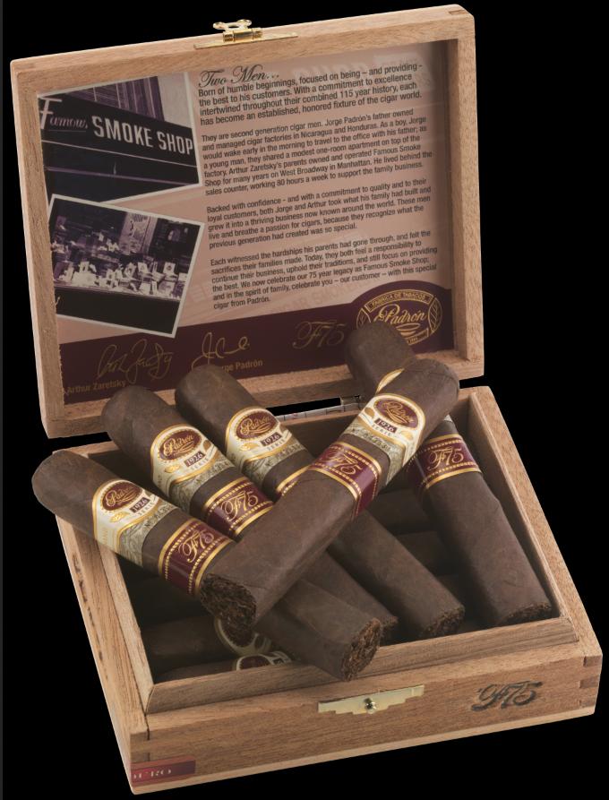 padron cigars guide f75 maduro