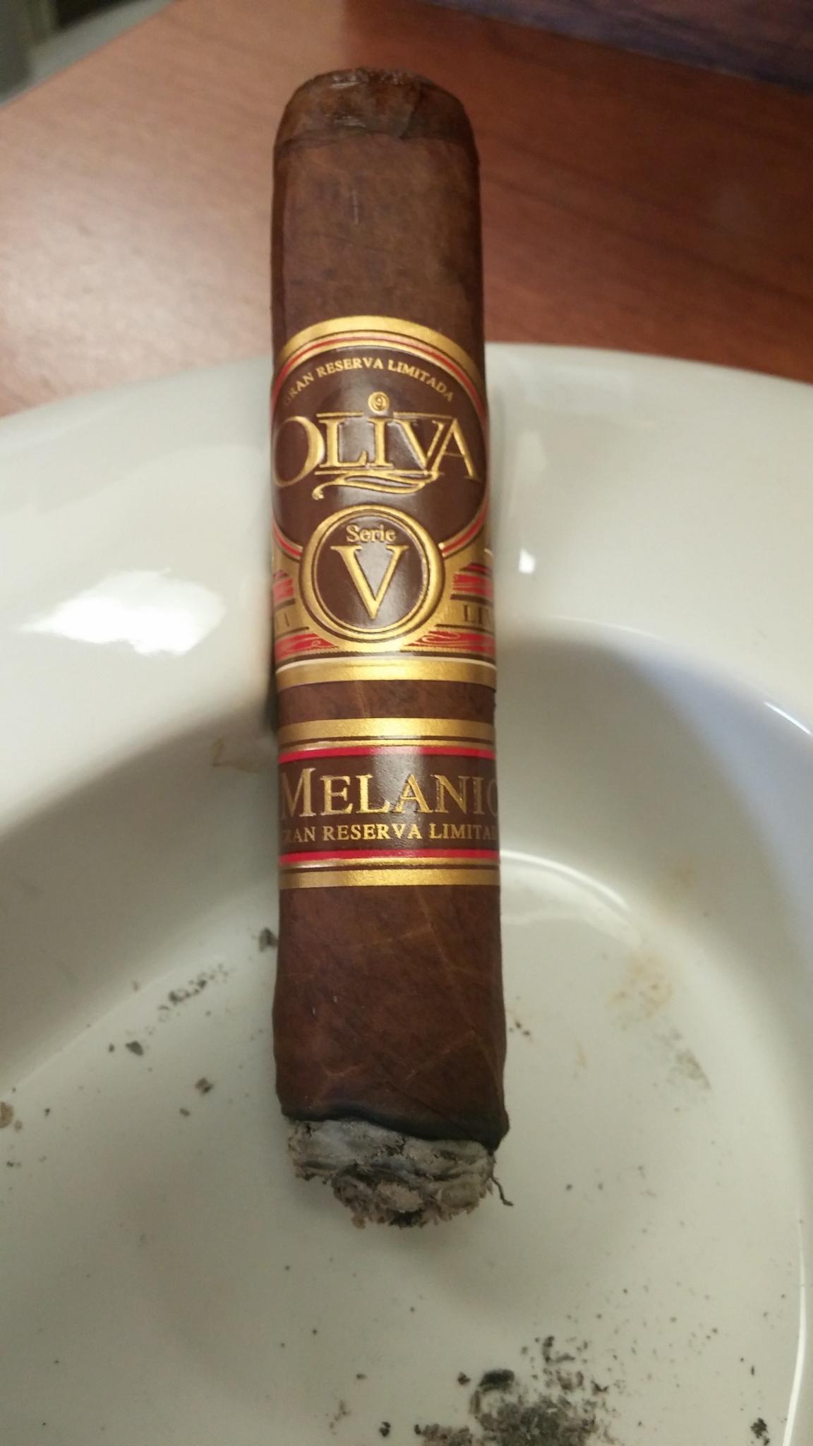 oliva cigars review serie v melanio
