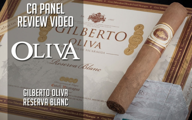 CACover Gilberto Oliva Reserva Blanc Cigar Review Video