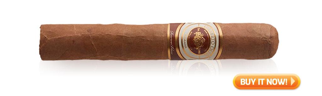 oliva cigars gilberto oliva reserva blanc cigar review