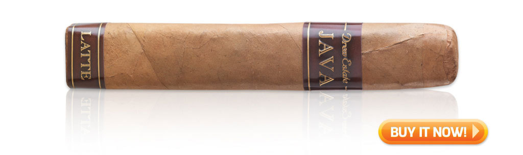 top flavored cigars JAVA Latte cigars