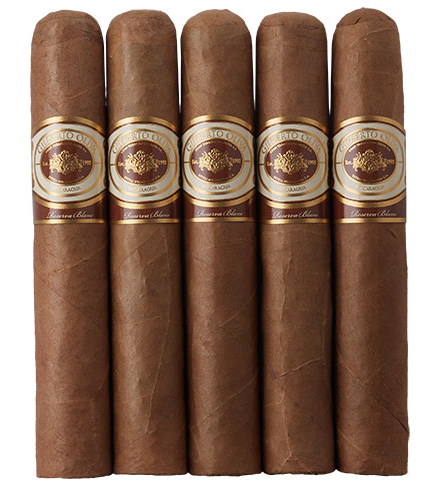 gilberto oliva reserva blanc cigar review 5 pack