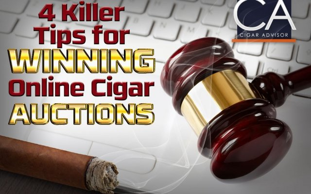 CA-Cover winning online cigar auctions