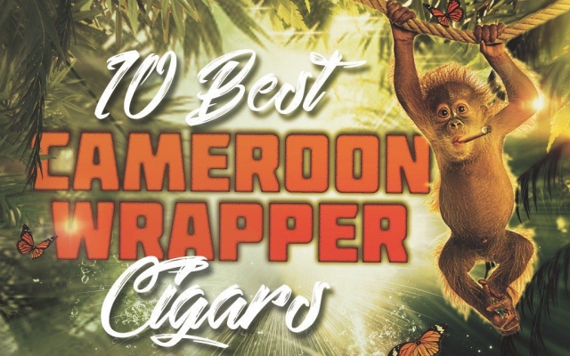 CACover Top 10 Cameroon Wrapper cigars