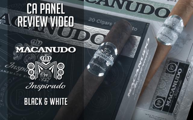 CACover Macanudo Inspirado Cigar Review Black and White