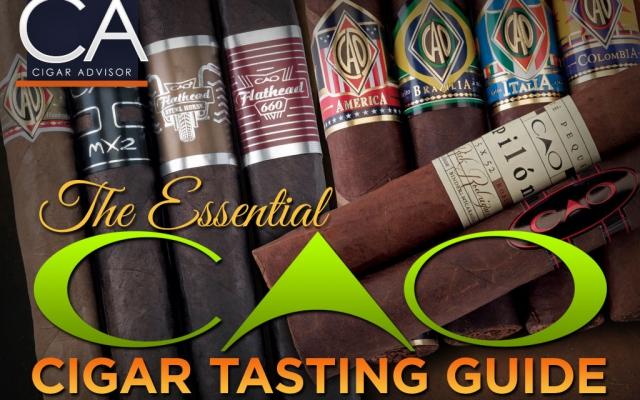 Cigar Advisor guide to CAO Cigars cover