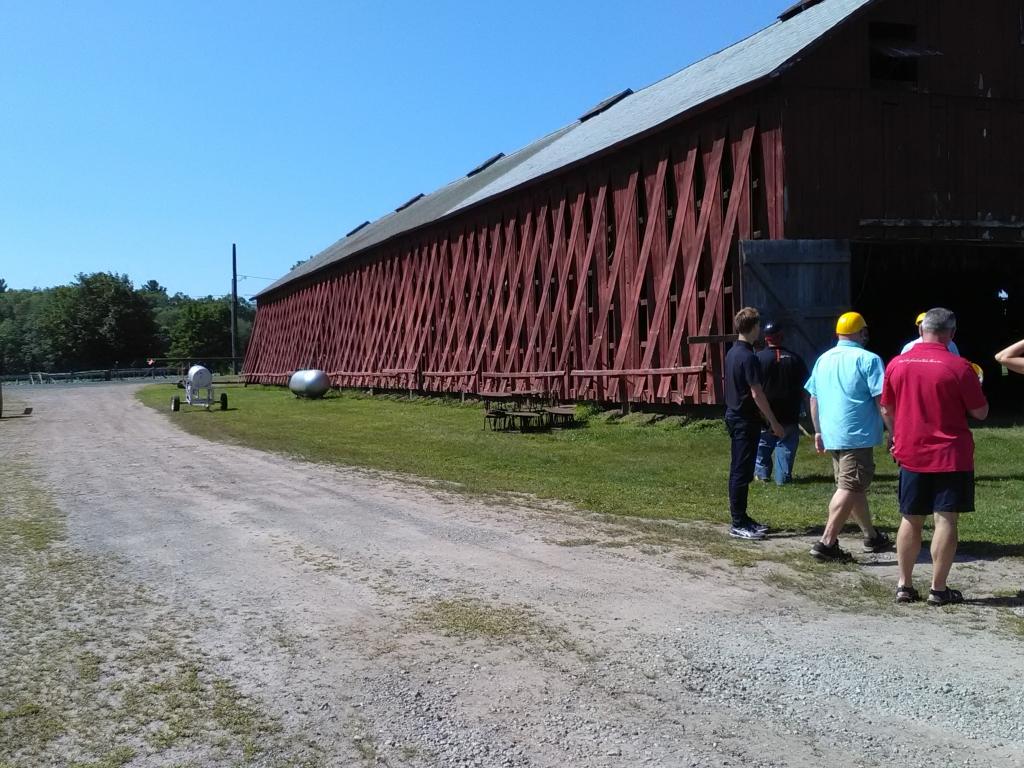 altadis broadleaf wrapper tour curing barn open