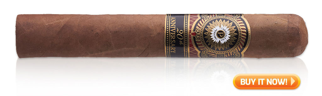 pairing food and cigars Perdomo 20th Anniversary Sun Grown