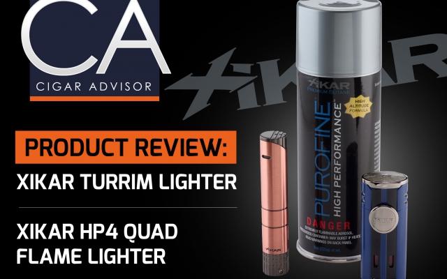 XIKAR cigar lighters review turrim hp4