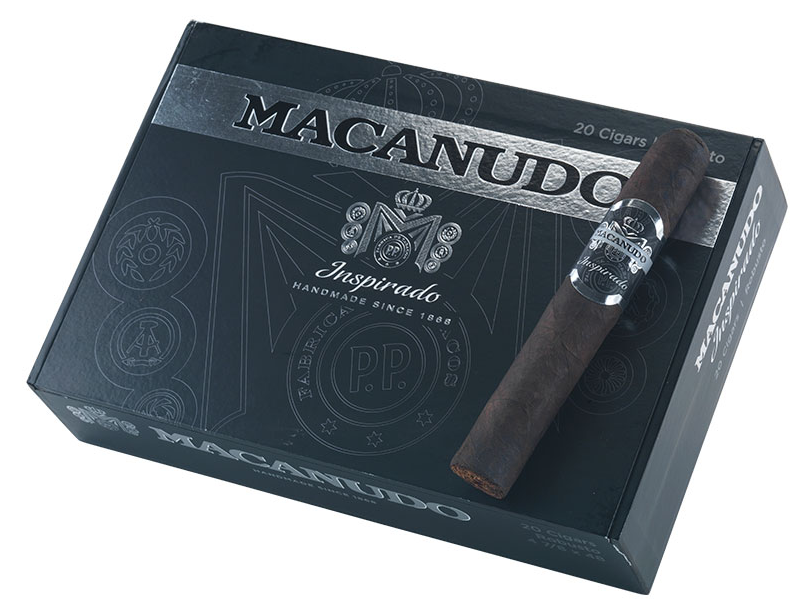 macanudo inspirado black cigar review box shot