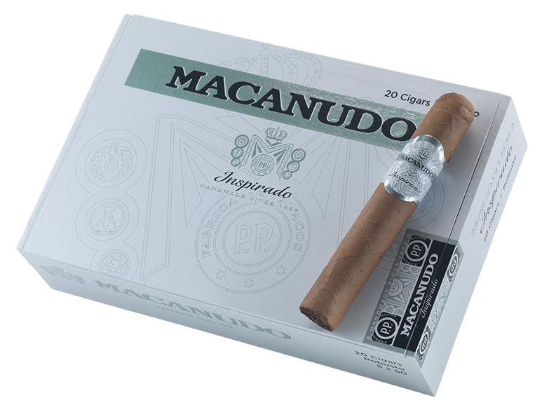 macanudo inspirado white cigar review box shot