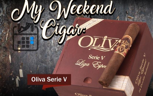 oliva serie v cigar review CACover
