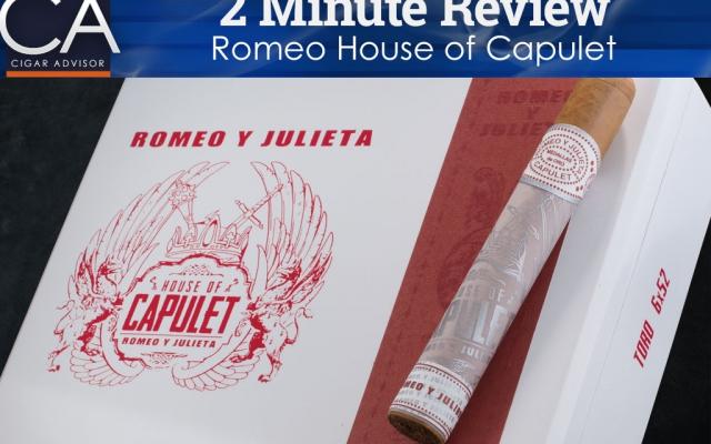 romeo y julieta capulet cigars 2 minute cigar review