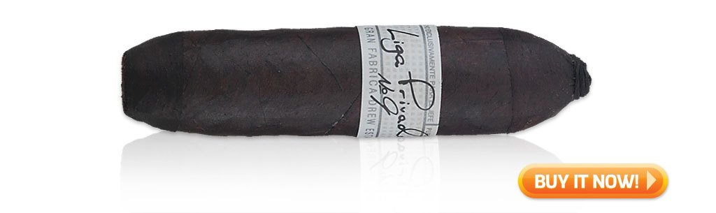 top figurado cigar liga privada 9 flying pig