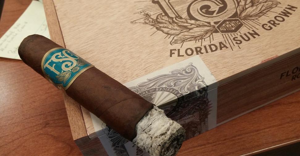 florida sun grown cigar review robusto 1