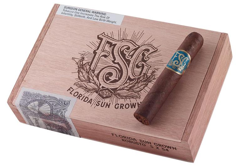 florida sun grown cigar review box