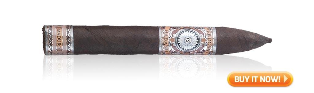 top rated maduro cigars perdomo habano barrel aged torpedo cigars