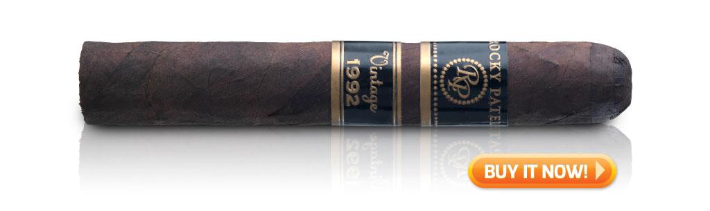 rocky patel vintage 1992 cigar review toro mwc bin