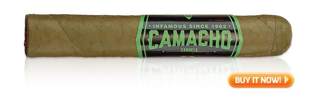 camacho cigars guide camacho candela cigar review at Famous Smoke Shop