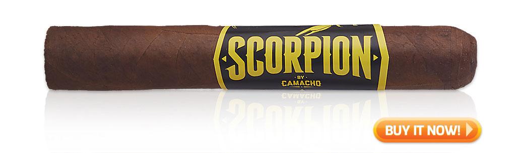 camacho cigars guide camacho scorpion sun grown cigar review at Famous Smoke Shop