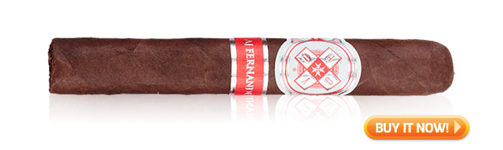 after-dinner cigar hoyo la amistad silver by aj fernandez cigars