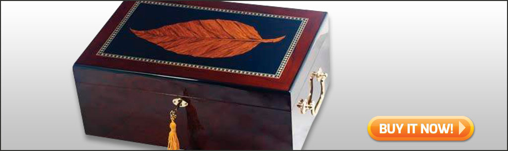 best humidors under 100 leaf inlay