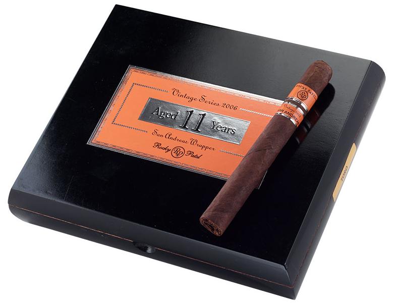 rocky patel vintage 2006 san andreas cigar review box