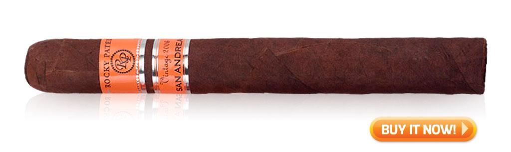 rocky patel vintage 2006 san andreas cigar review BIN