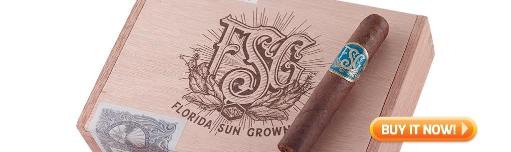 top new cigars nov 17 2017 fsg cigars florida sun grown cigars