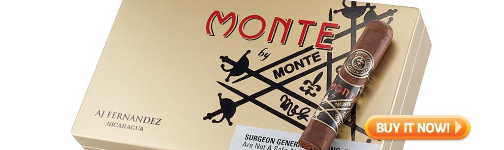 top new cigars nov 17 2017 montecristo by aj fernandez cigars