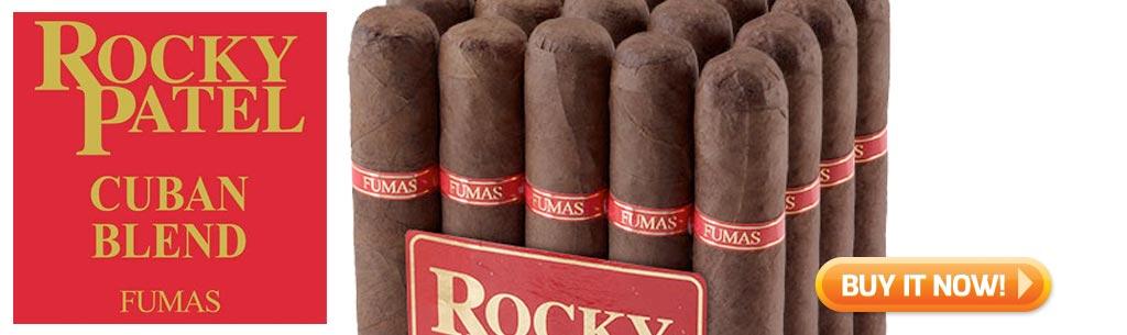 top new cigars december 1 2017 rocky patel cuban blend fumas cigars