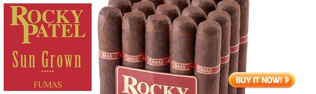top new cigars December 1 2017 Rocky Patel Sun Grown Fumas cigars