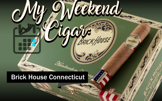 Brick House Connecticut cigar review MWC cover