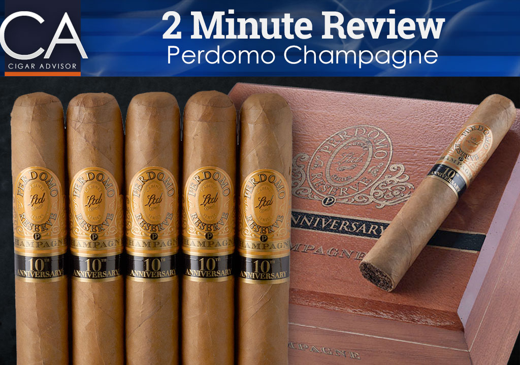 2 Minute Cigar Review: Perdomo Champagne Cigars