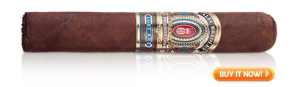 best new cigars 2017 Alec Bradley Prensado Lost Art cigars