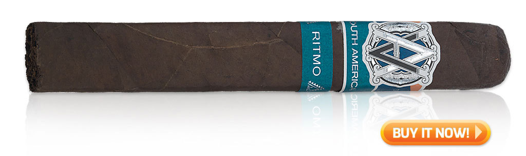 best new cigars 2017 AVO syncro South America Ritmo