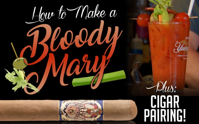 How to make a Bloody Mary drink with cigar pairing CACover