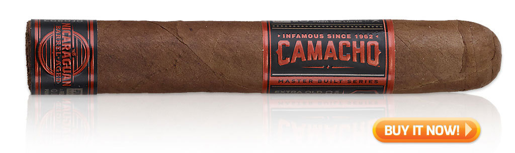 best new cigars 2017 Camacho Nicaragua Barrel Aged cigars