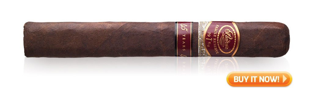 Padron Family Reserve 45 years new years eve celebration cigars