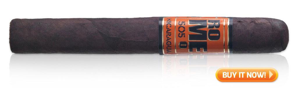 best new cigars 2017 Romeo 505 nicaragua