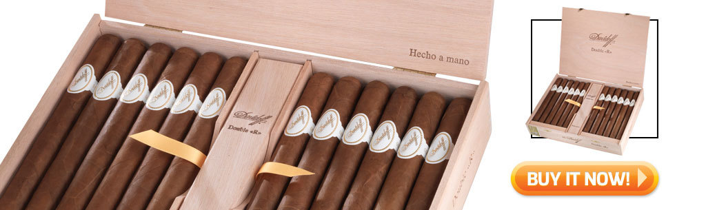 2017 Best Holiday Cigar Gifts Davidoff Double R cigars