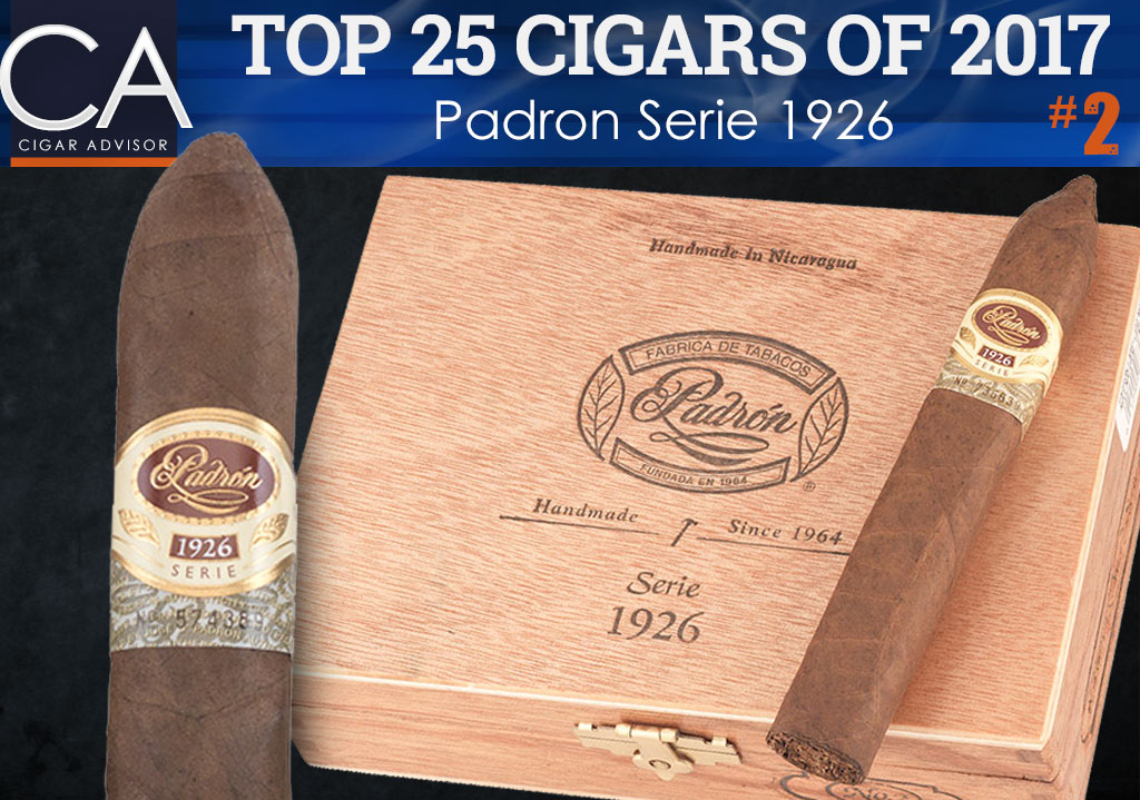Top 25 Cigars of 2017 Reviewed: Padron Serie 1926
