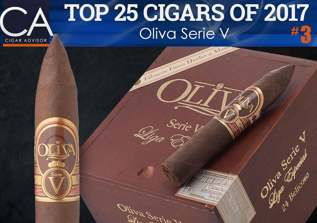 Top 25 Cigars of 2017 Reviewed: Oliva Serie V
