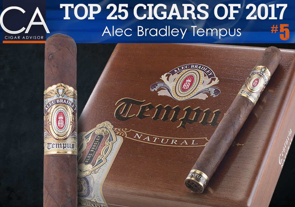 Top 25 Cigars of 2017 Reviewed: Alec Bradley Tempus
