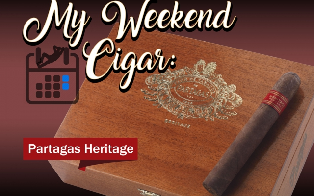 partagas heritage cigar review my weekend cigar