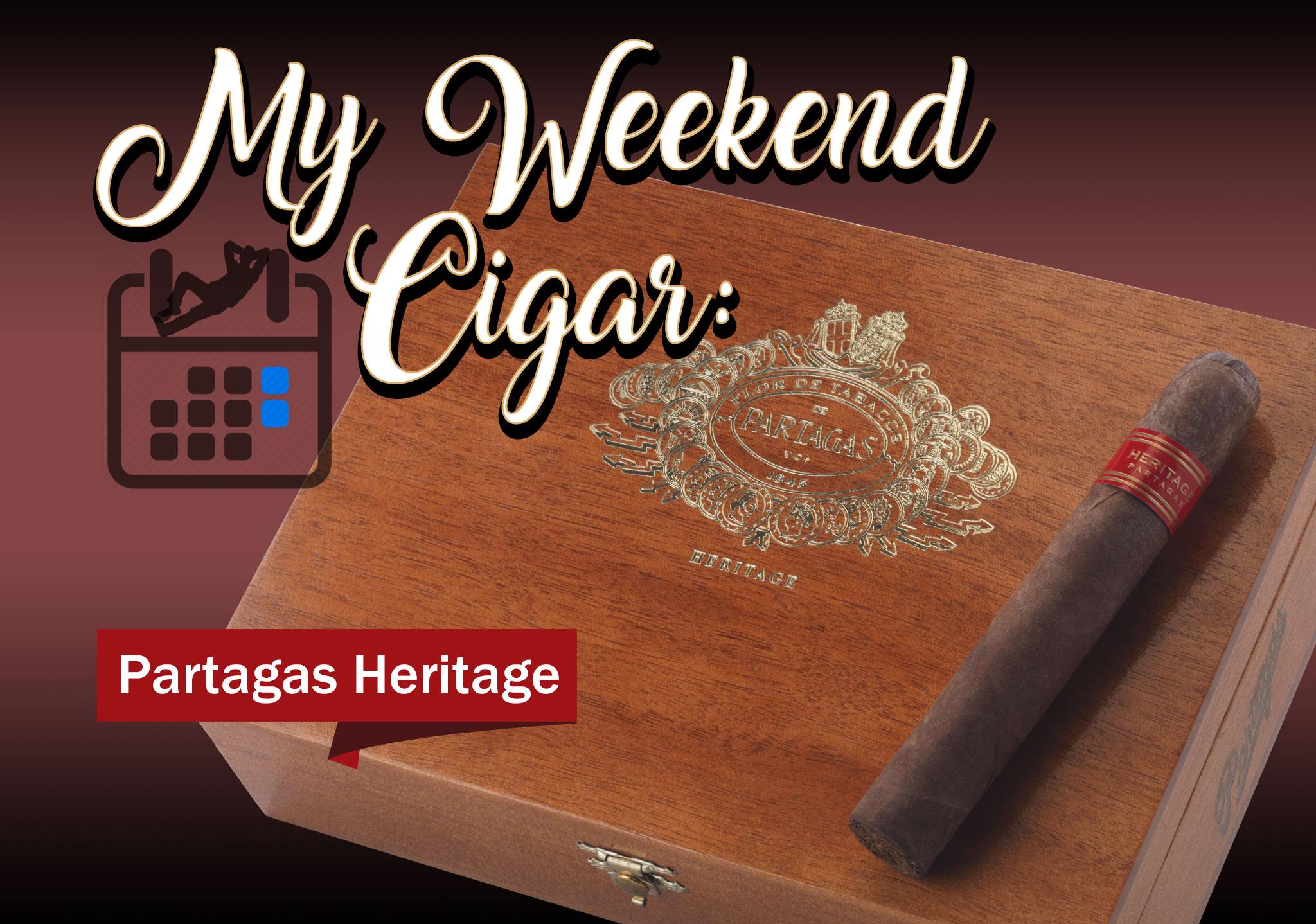 My Weekend Cigar: Feb. 5, 2018 – Partagas Heritage Robusto